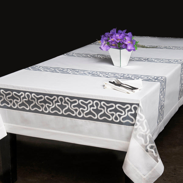 Swiss Collection Pinnacle Organza Spill Proof Tablecloth