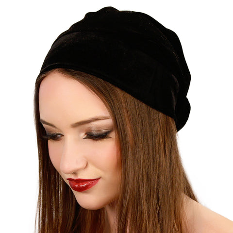 Velvet Beanie - Kristin Perry Accessories - 1