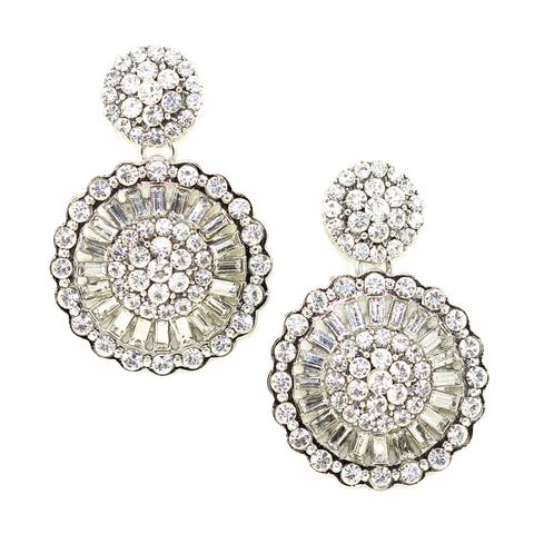 Deco Disk Earrings - Kristin Perry Accessories - 1