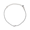 Leather Crystal Choker - Kristin Perry Accessories