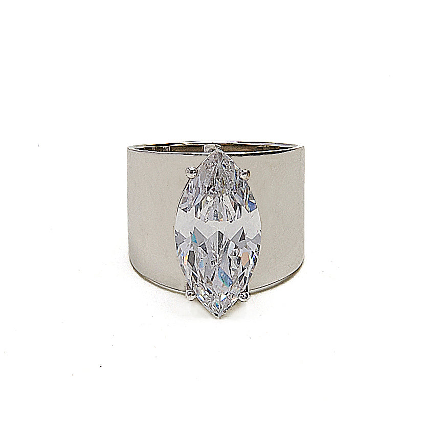 Cigar Band CZ Ring - Kristin Perry Accessories
