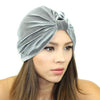 Stretch Velvet Turban - Kristin Perry Accessories - 4