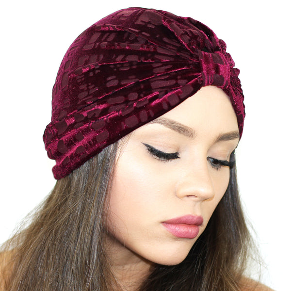 Gridiron Burnout Turban - Kristin Perry Accessories