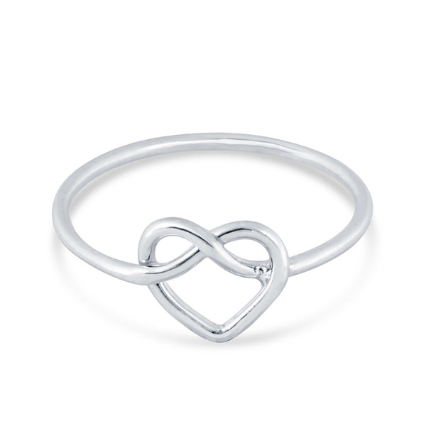 Knotted Heart Ring - Kristin Perry Accessories