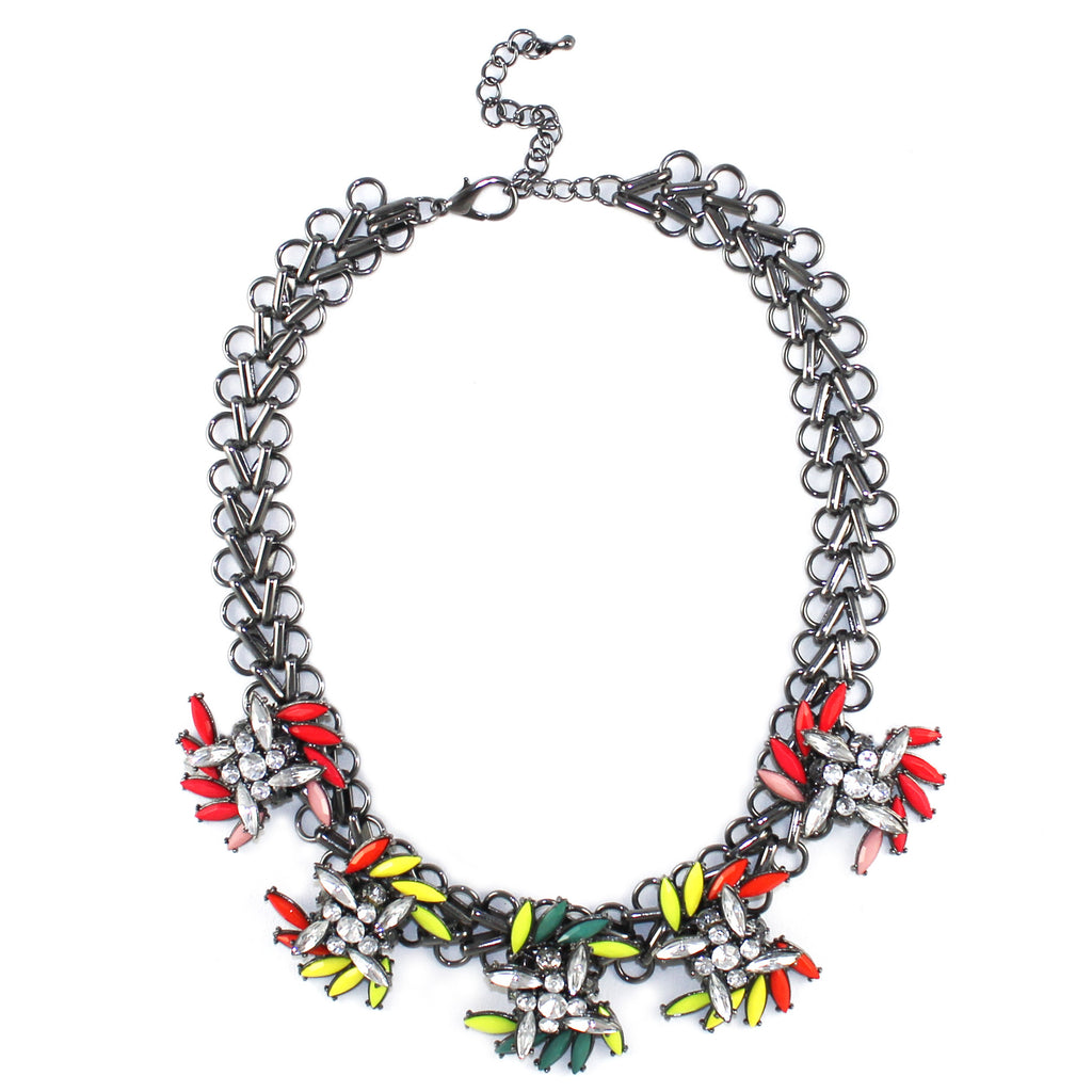 Neon Spray Necklace - Kristin Perry Accessories