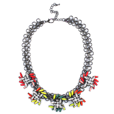 Neon Spray Necklace - Kristin Perry Accessories - 1