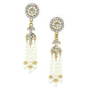 Deco Pearl Tassel Earrings - Kristin Perry Accessories - 3