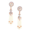 Deco Pearl Tassel Earrings - Kristin Perry Accessories - 2