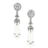 Deco Pearl Tassel Earrings - Kristin Perry Accessories - 1