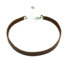 Genuine Leather Choker Necklace - Kristin Perry Accessories - 3