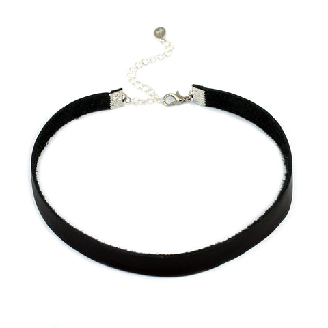 Genuine Leather Choker Necklace - Kristin Perry Accessories