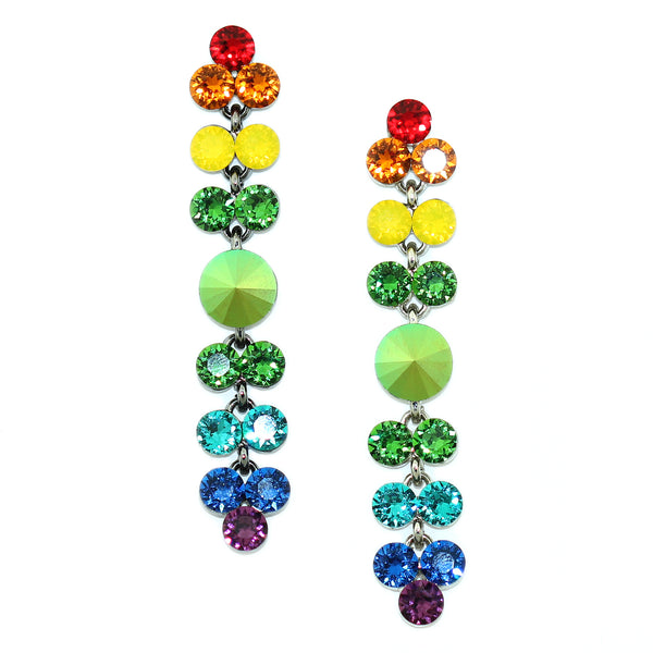 Rainbow Drop Earrings - Kristin Perry Accessories