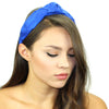 Dupioni Silk Top Knot Headband - Kristin Perry Accessories