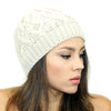 Sweater Knit Beanie - Kristin Perry Accessories - 5