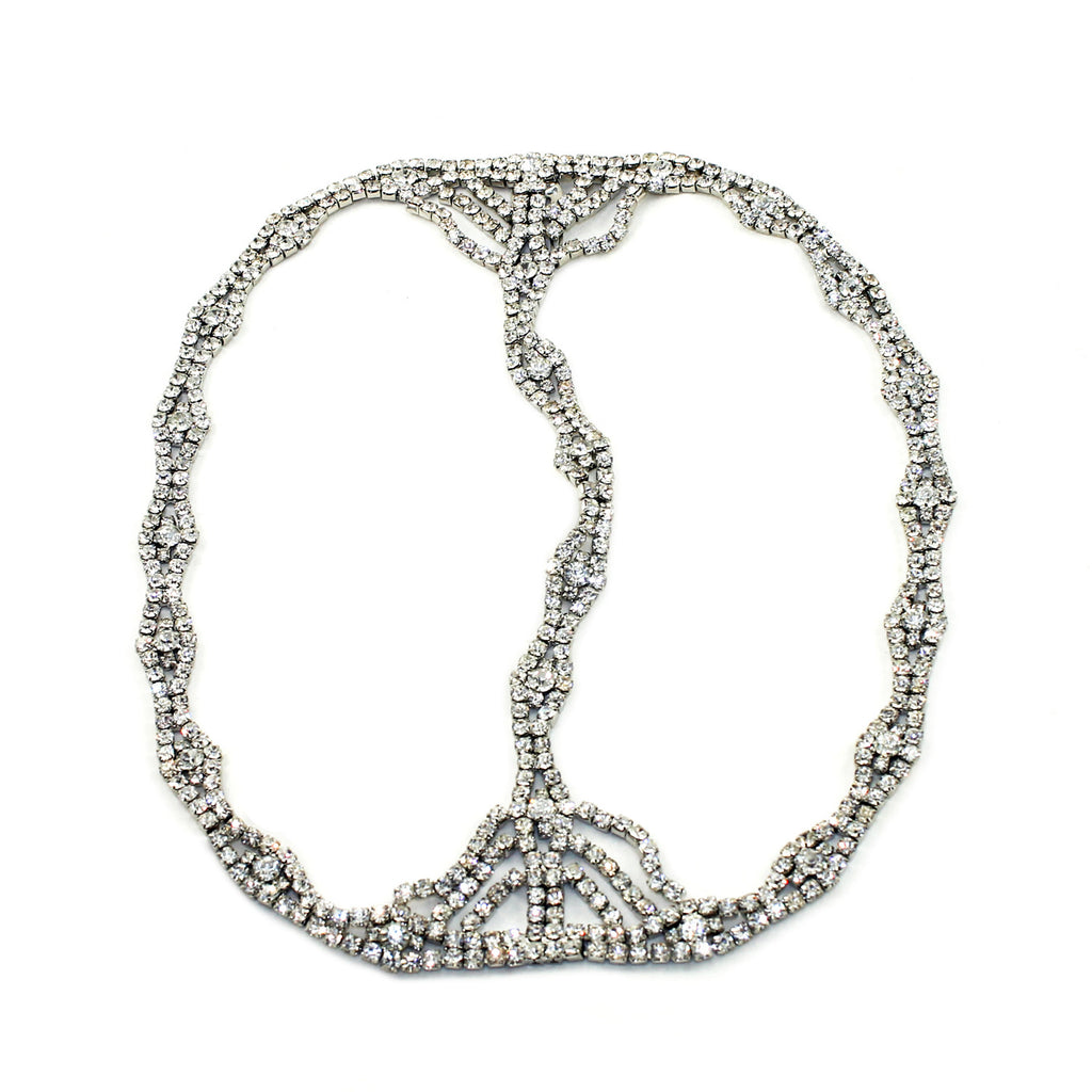 Rhinestone Cleo Headpiece - Kristin Perry Accessories