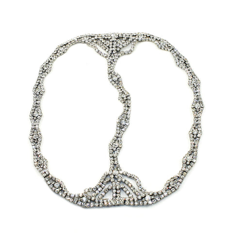 Rhinestone Chain Headpiece - Kristin Perry Accessories - 1