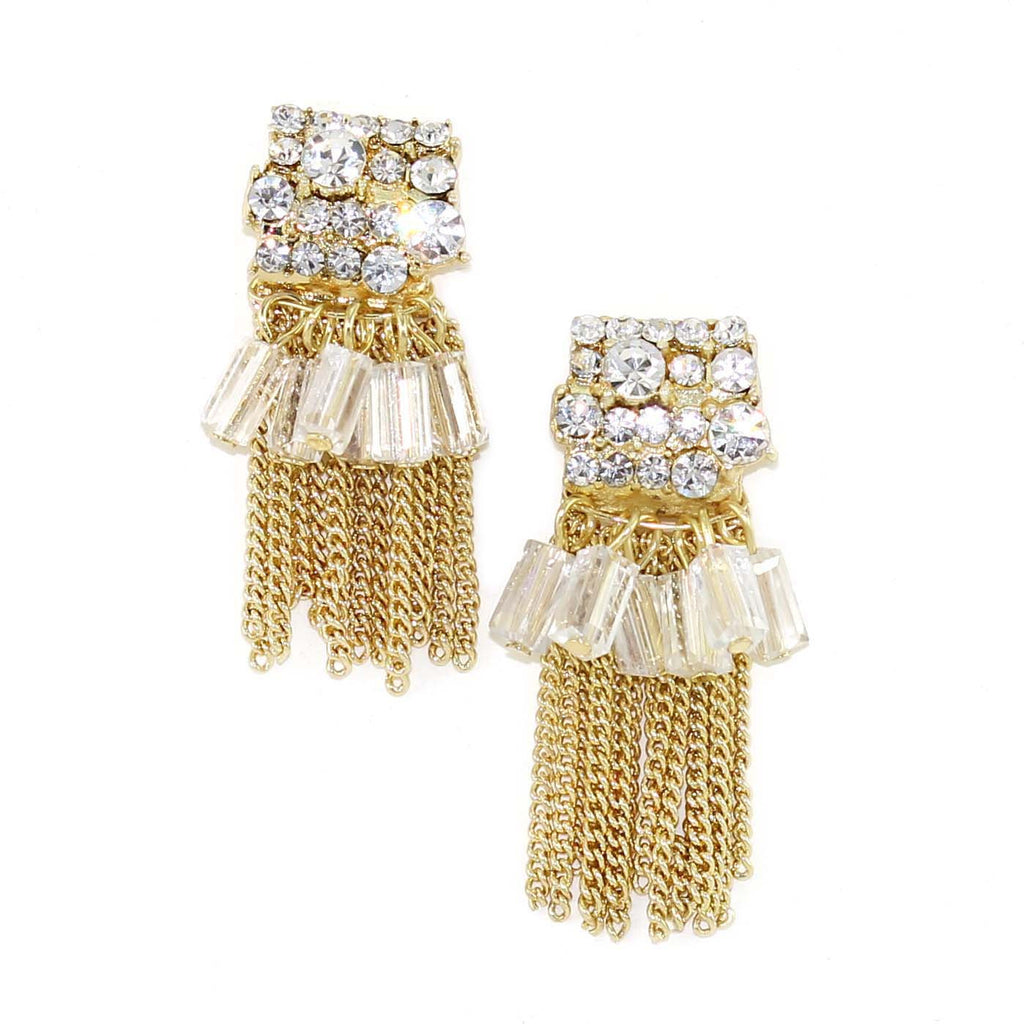 Sunburst Tassel Earrings - Kristin Perry Accessories - 1