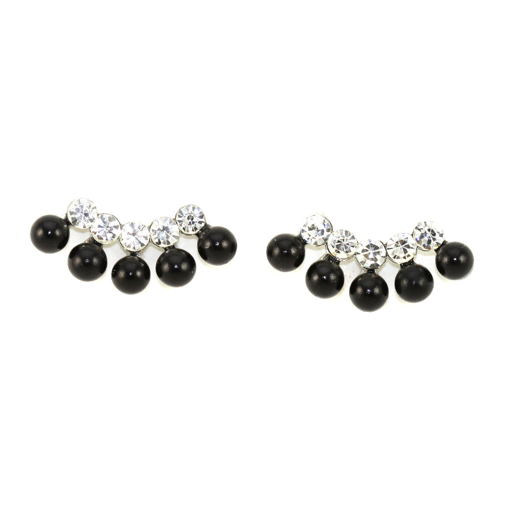 Pearl Cluster Earrings - Kristin Perry Accessories - 1