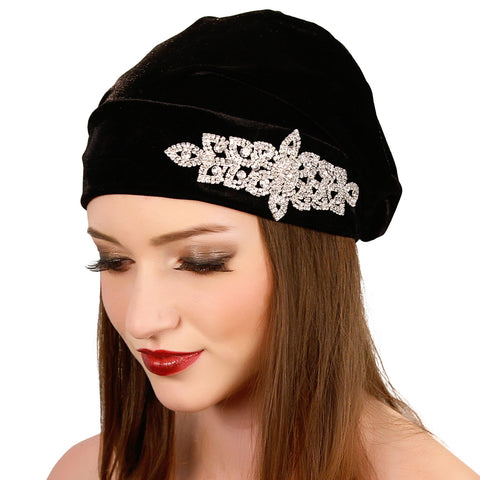 Crystal Slouch Beanie - Kristin Perry Accessories - 1