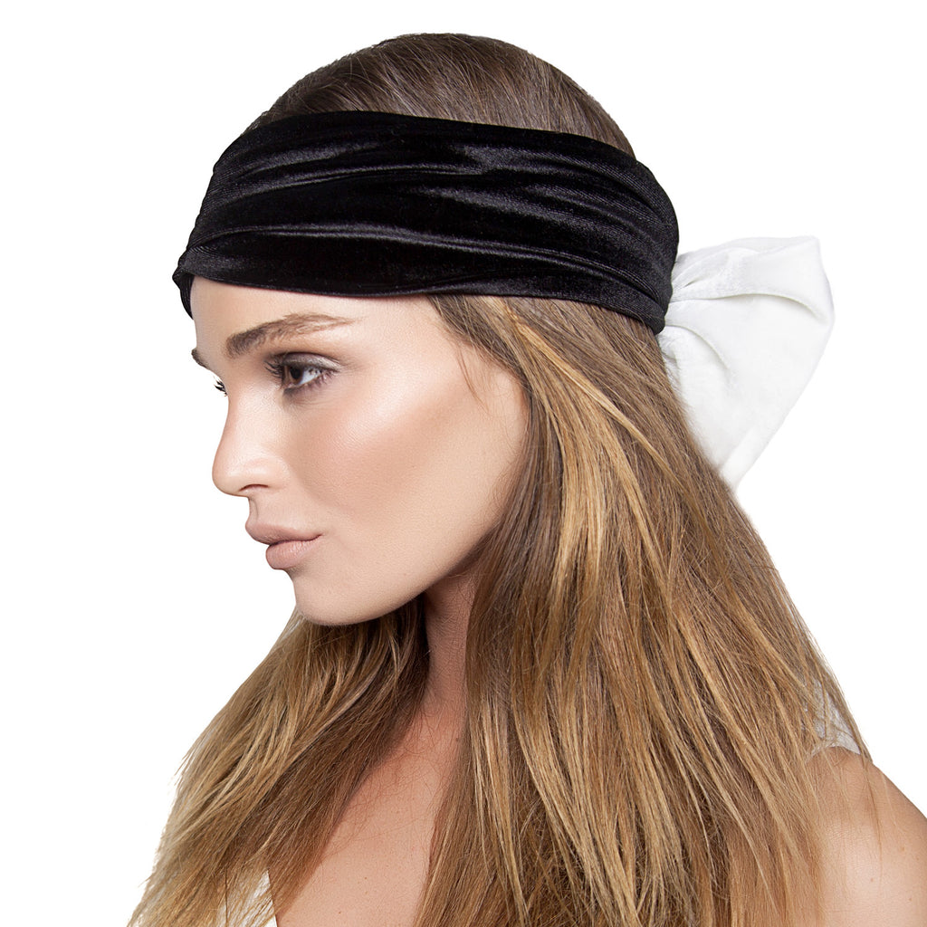 Color Block Bow Turban - Kristin Perry Accessories - 1