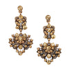 Floral Gem Earrings - Kristin Perry Accessories - 2