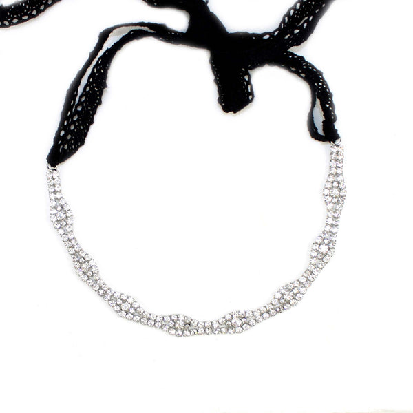 CLASSIC CRYSTAL HEADBAND - Kristin Perry Accessories