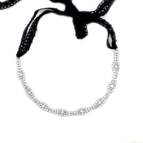 CLASSIC CRYSTAL HEADBAND - Kristin Perry Accessories - 2