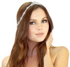 Rhinestone Chain Headpiece - Kristin Perry Accessories