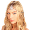 Crusted Medallion Chain Headpiece - Kristin Perry Accessories - 2