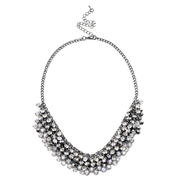 Crystal Collar Necklace - Kristin Perry Accessories - 1