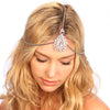Crusted Medallion Chain Headpiece - Kristin Perry Accessories - 3