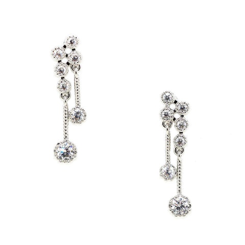Cluster Drop Earrings - Kristin Perry Accessories - 1
