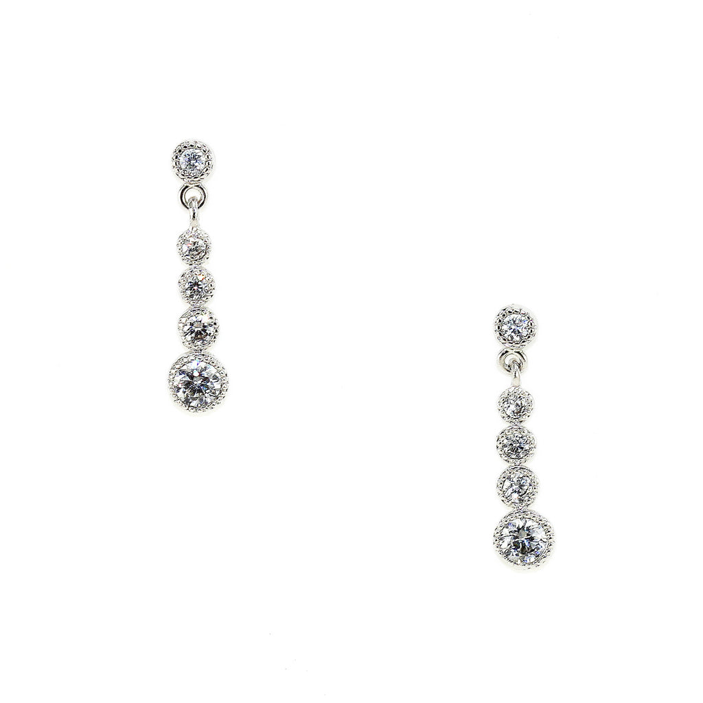 Crystal Droplet Earrings - Kristin Perry Accessories - 1