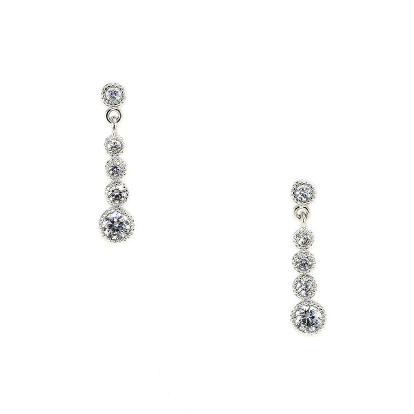 Crystal Droplet Earrings - Kristin Perry Accessories