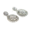 Deco Disk Earrings - Kristin Perry Accessories - 2