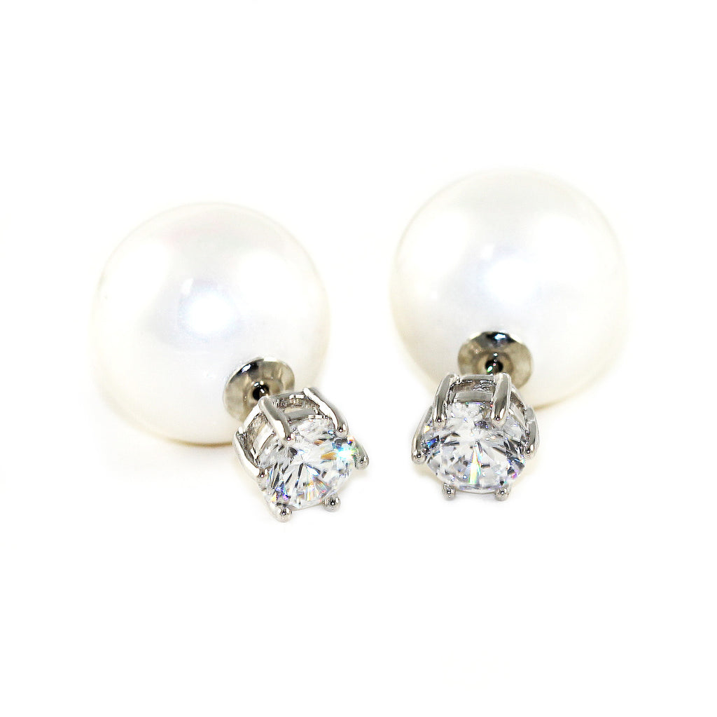 Pearl Drop Earrings - Kristin Perry Accessories - 1