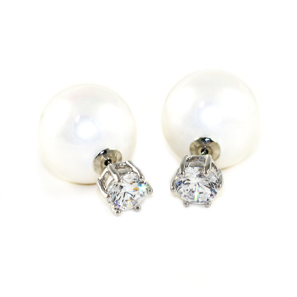 Pearl Drop Earrings - Kristin Perry Accessories