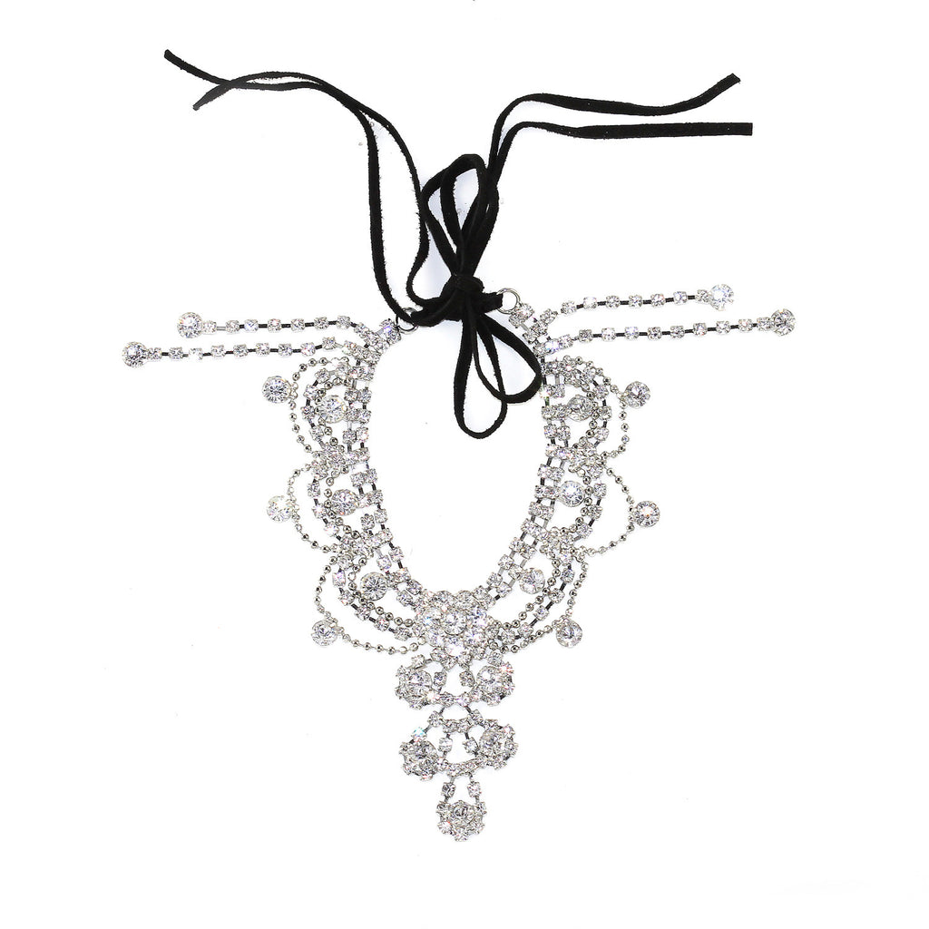 Draping Crystals Anklet - Kristin Perry Accessories - 1