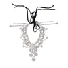 Draping Crystals Anklet - Kristin Perry Accessories
