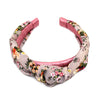 Floral Silk Knot Headband - Kristin Perry Accessories - 3