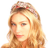 Floral Silk Knot Headband - Kristin Perry Accessories - 2