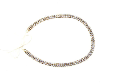 Dainty Rhinestone Headpiece - Kristin Perry Accessories