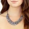 Crystal Collar Necklace - Kristin Perry Accessories - 2