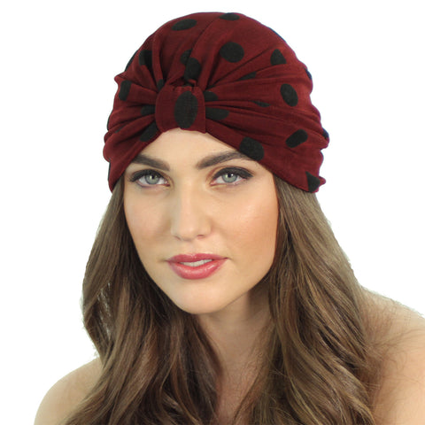 SLINKY DOT TURBAN - Kristin Perry Accessories - 1