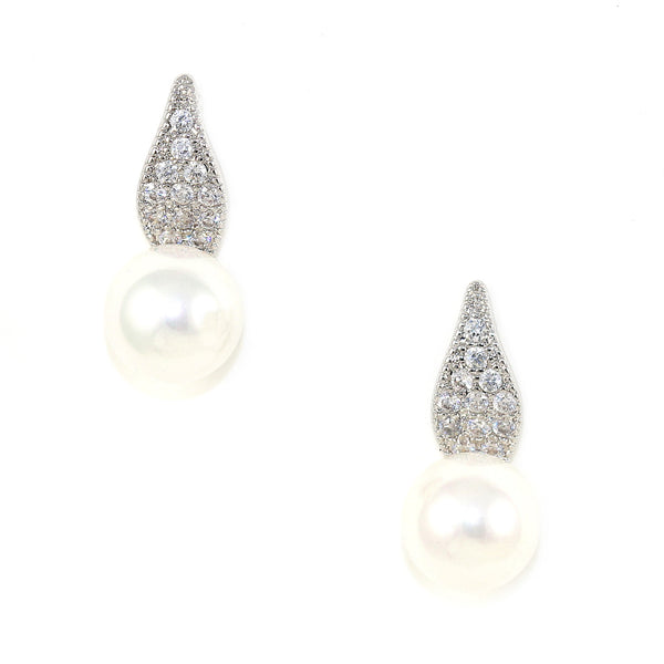 Pearl Petal Earrings - Kristin Perry Accessories