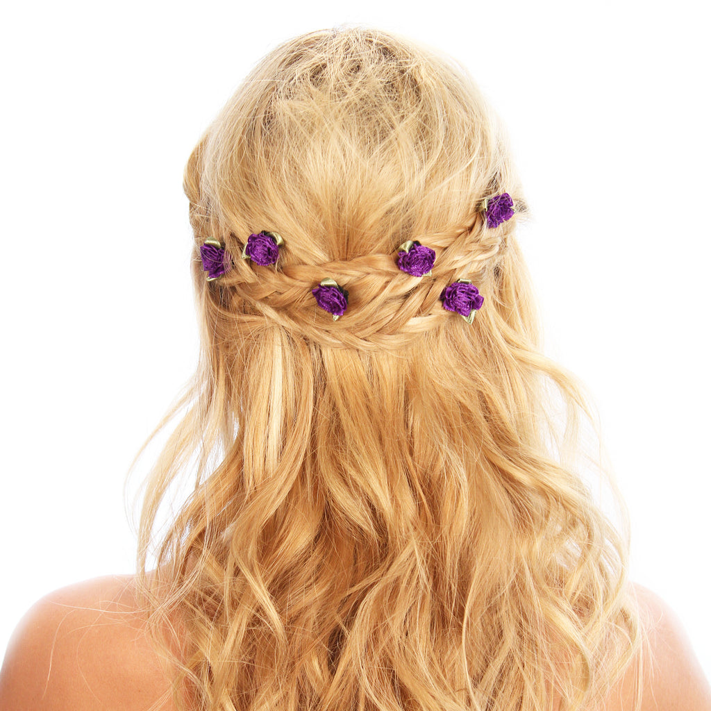 Peony Hair Grips - Kristin Perry Accessories - 1