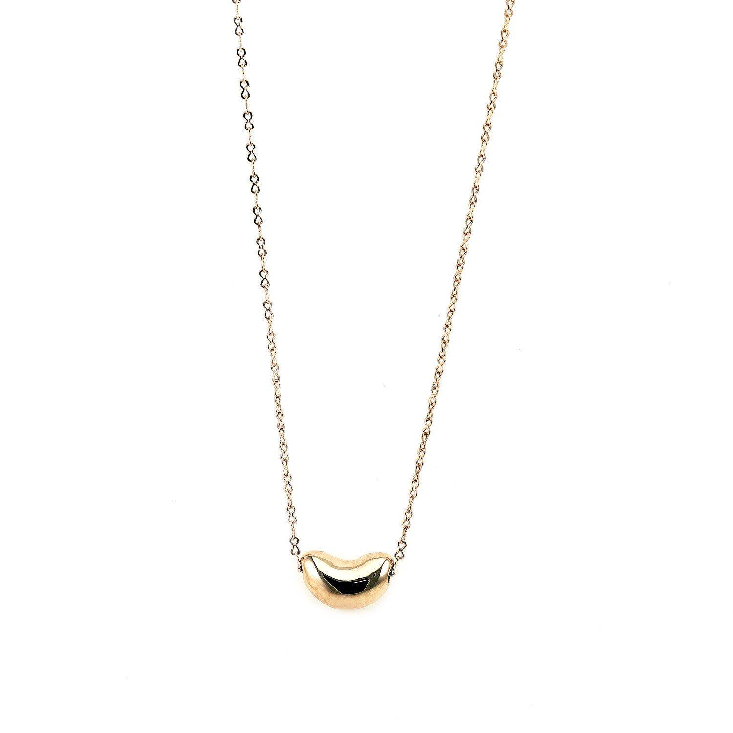 necklace product gold in normal pea jewelry baby metallic monroe lyst pod alex