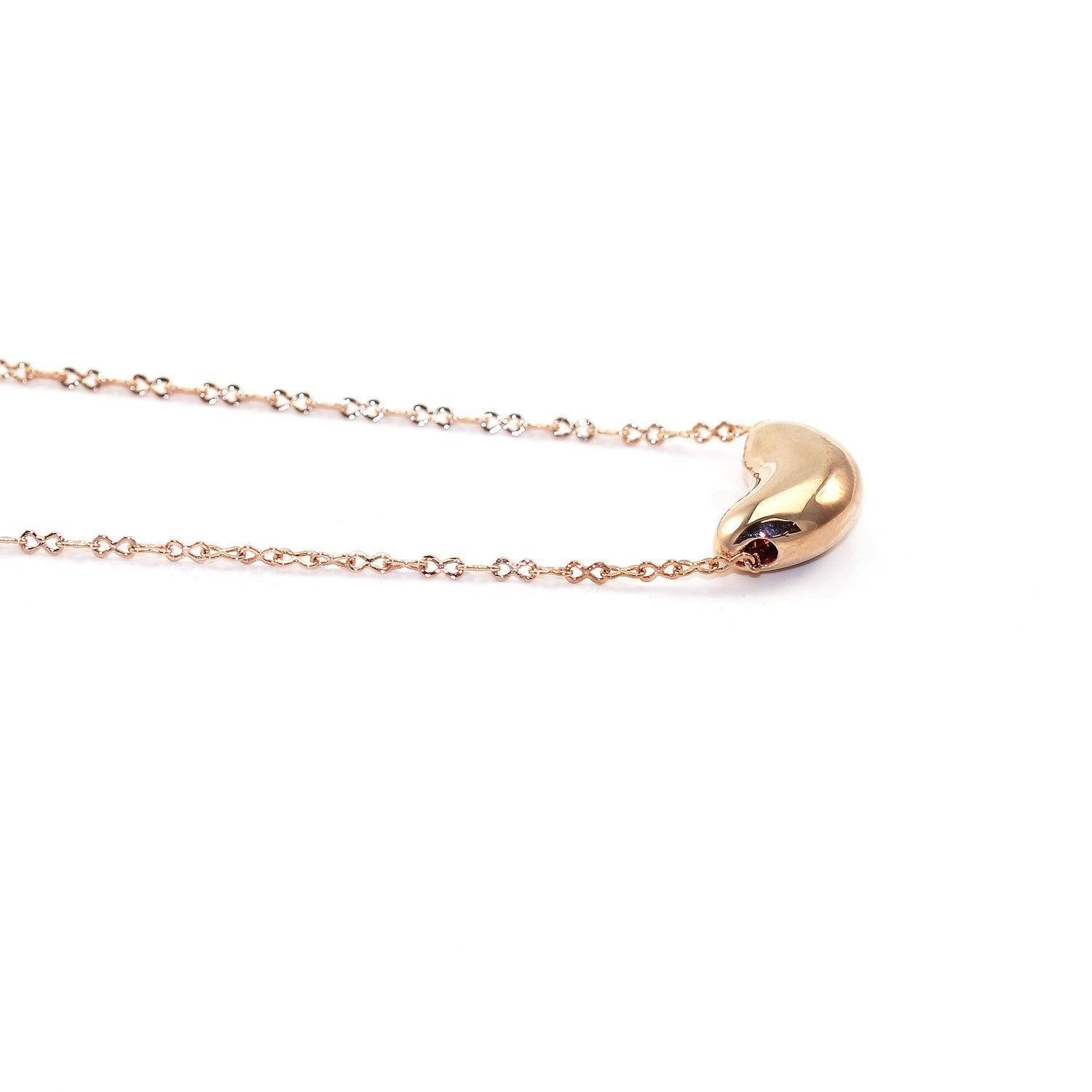 necklace product normal lyst monroe pea baby pod alex gallery in jewelry gold metallic
