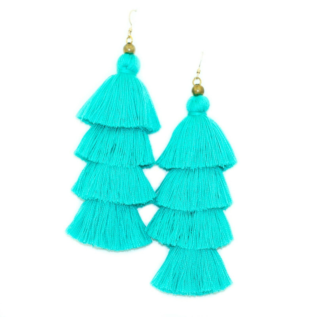 Fringe Tassel Earrings - Kristin Perry Accessories