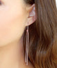 Bar and Chain Threader Earrings - Kristin Perry Accessories - 4